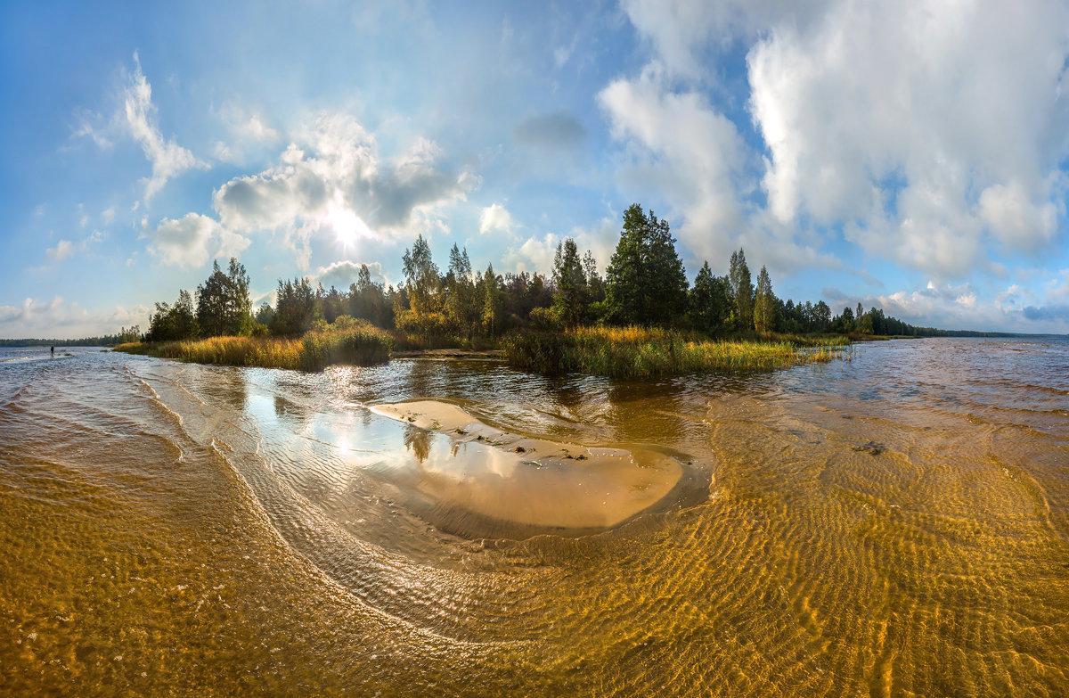 Золотой пляж Финского залива - Фёдор. Лашков
