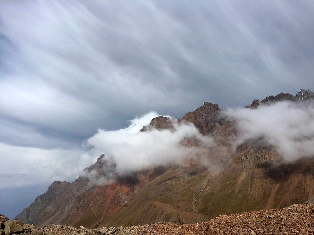 Погода в горах очень переменчива. - Anna Gornostayeva