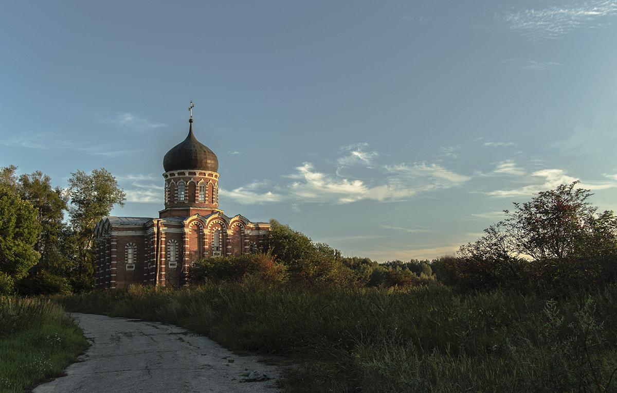 Однопрестольный храм во имя святого мученика Диомида в селе Перво - Игорь Егоров