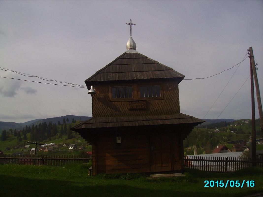 Церковный   музей   в  Ворохте - Андрей  Васильевич Коляскин