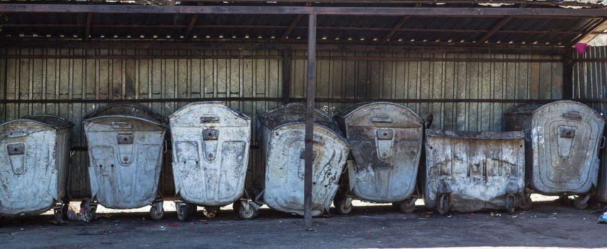 мусорные баки - сергей пейкер