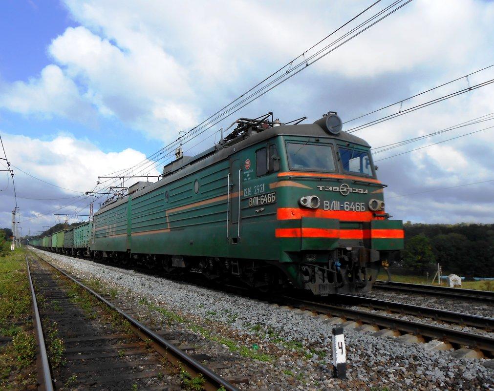ВЛ11 - 646Б - Сергей Уткин