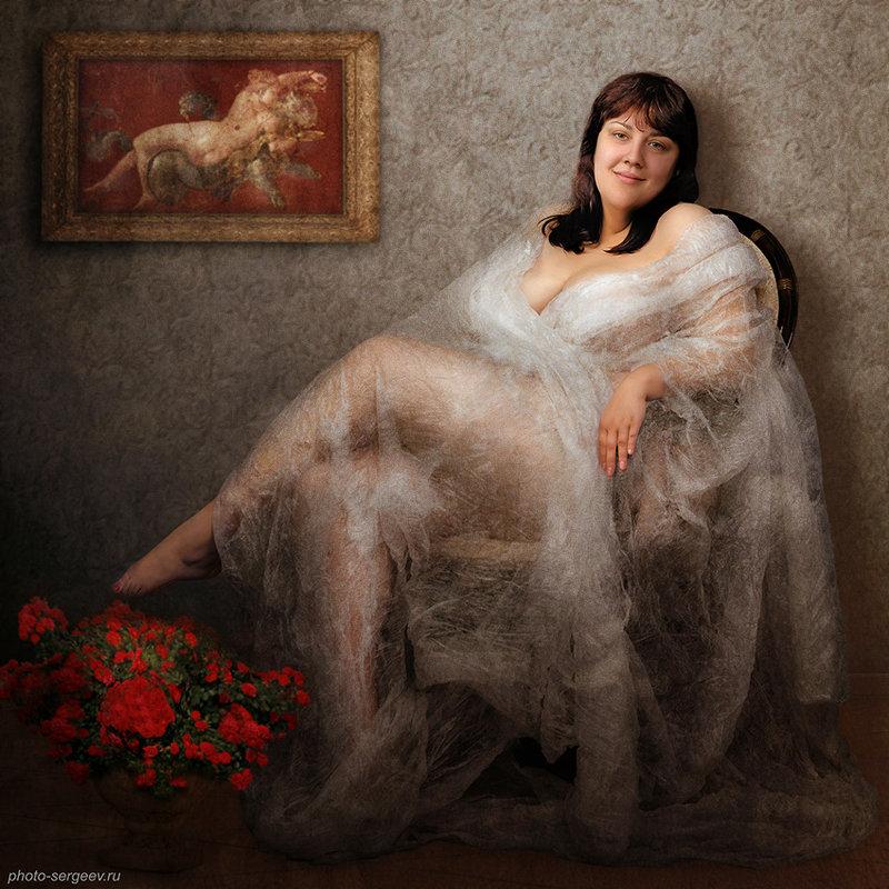Женский портрет - Александр Сергеев