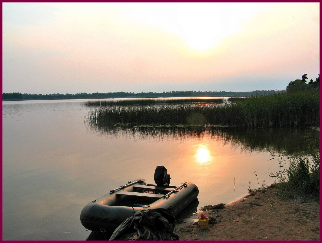 На озере - Наталья