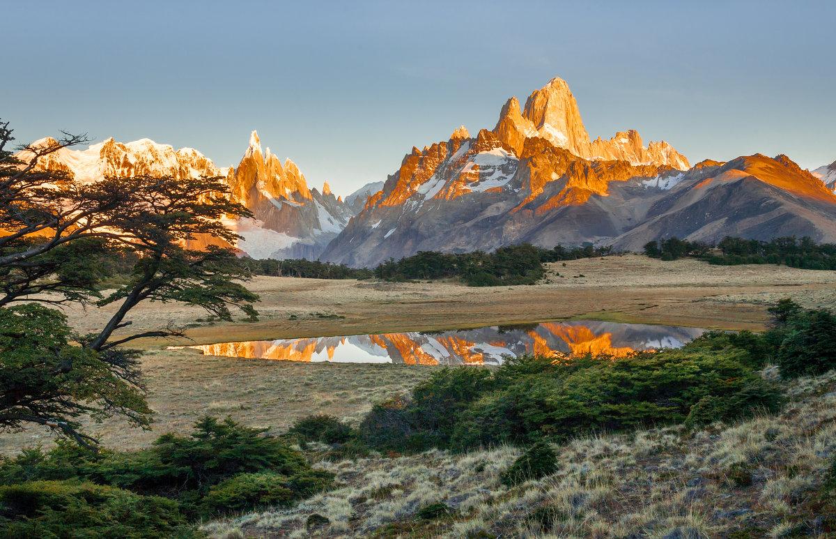 Утро в Патагонии - vicbelko