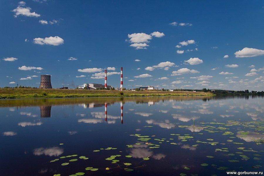 Индустриальный пейзаж - Александр Горбунов