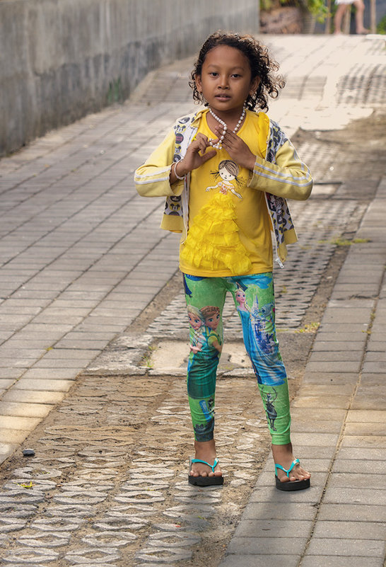 балийская девочка - Александр