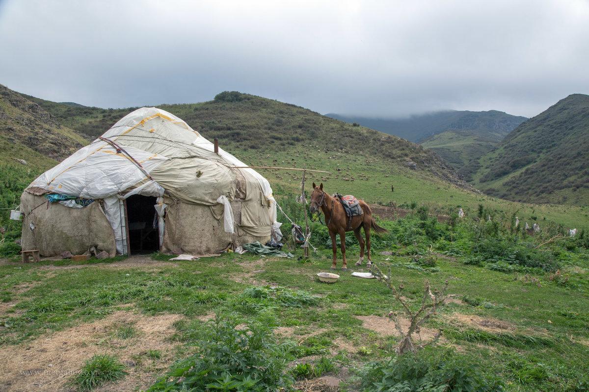 В горах Казахстана - Евгений Мергалиев