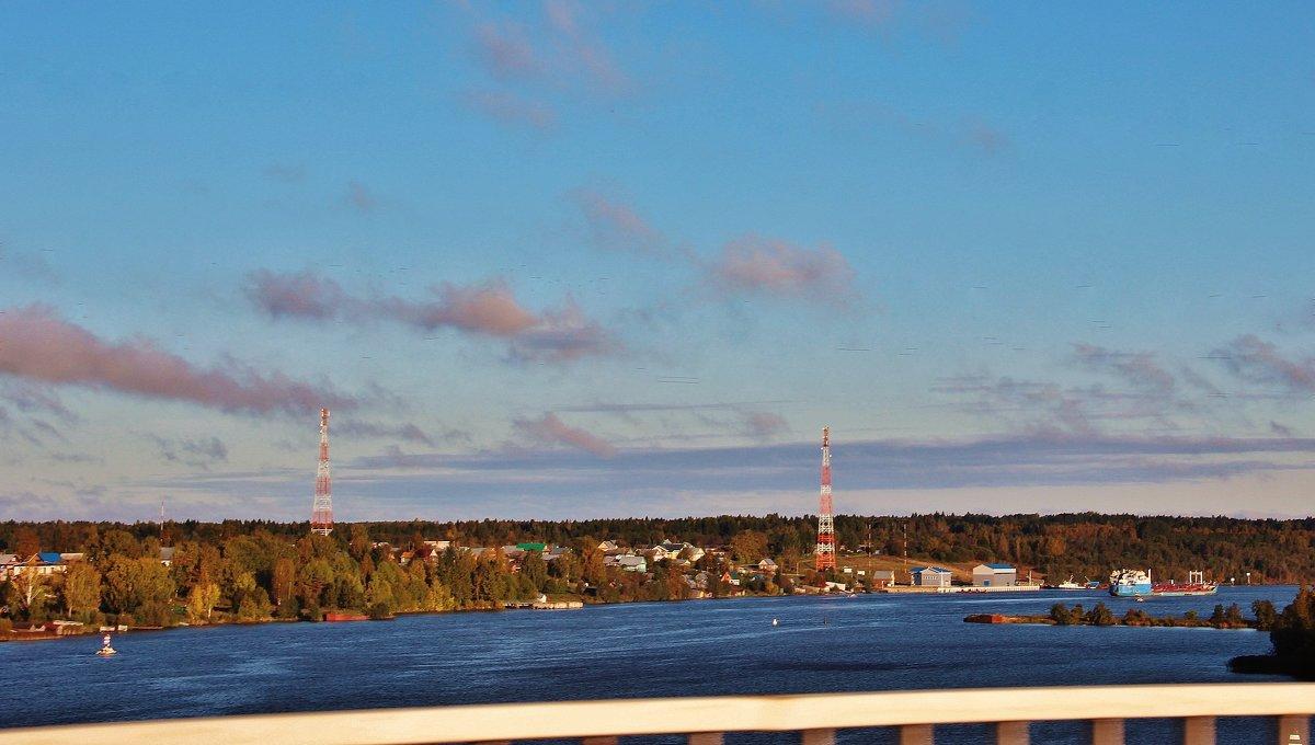 Вид с моста. - Галина Pavlova
