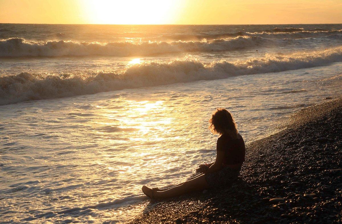 закат на море - Марат Валеев