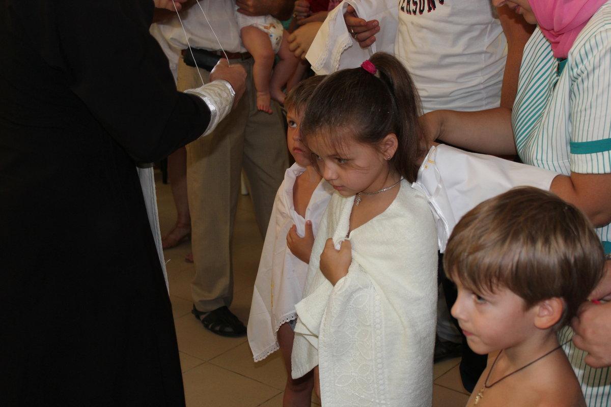 обряд крещения - игорь