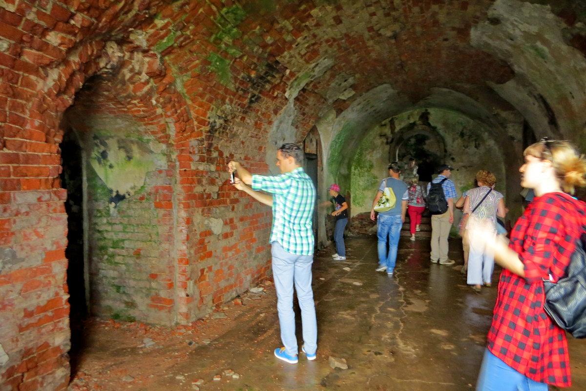 В коридорах форта - Светлана