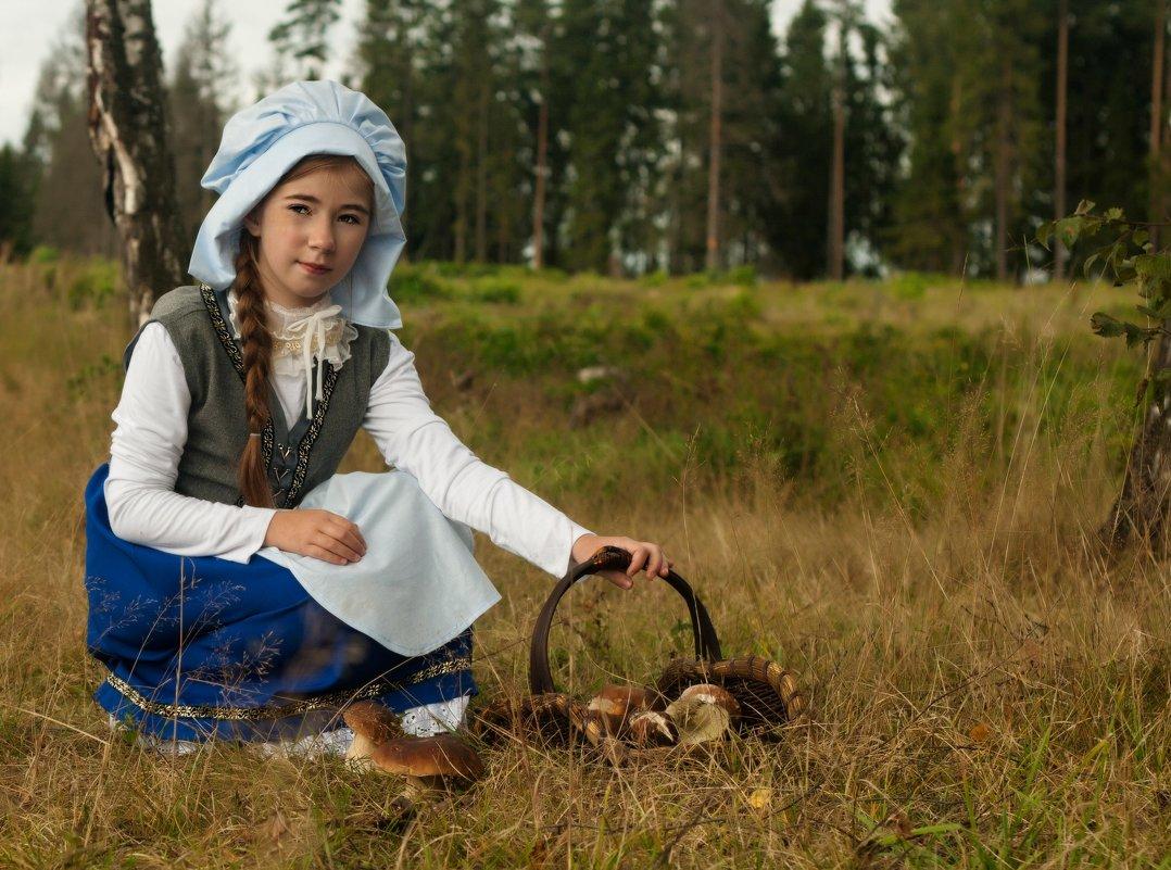 По грибы - Olga Podkopaeva