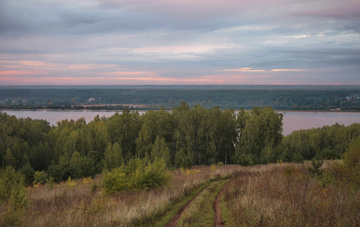 В нежно-розовый вечер - Владимир Макаров
