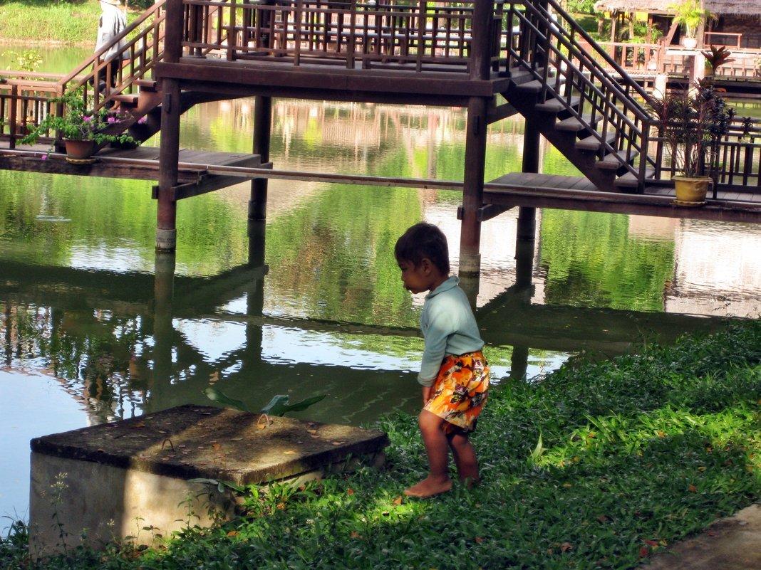 Местный житель Камбоджии - Лилия Воронежева