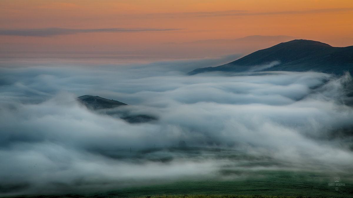 Сентябрьский рассвет в Баргузинской долине - Павел Федоров