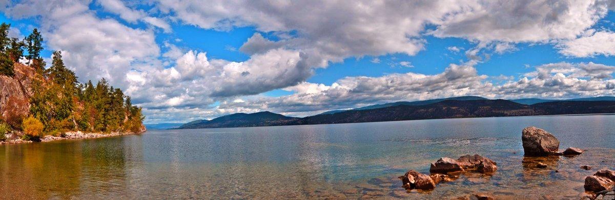 Озеро Оканаган (Канада) - Dobr