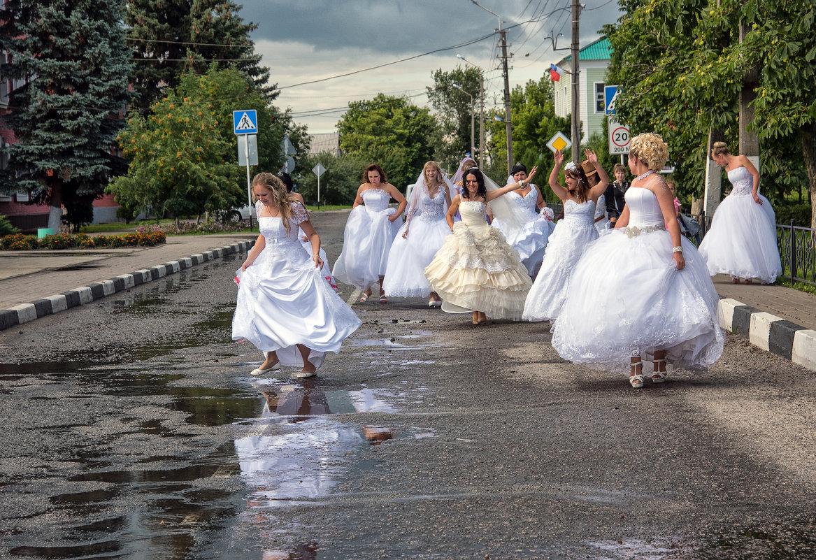 """Фотопроект """"Сбежавшие невесты"""" - Инна Голубицкая"""
