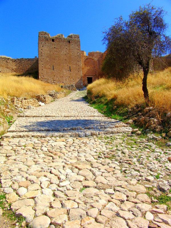Палами́ди — крепость в Нафплионе - Оля Богданович