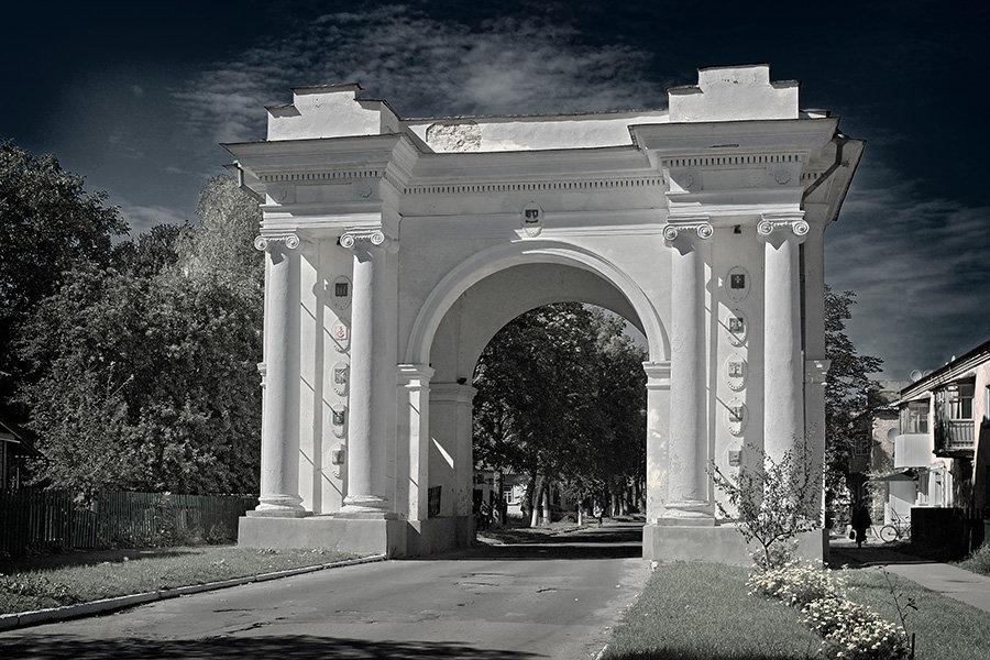 Триумфальная арка. - Андрий Майковский