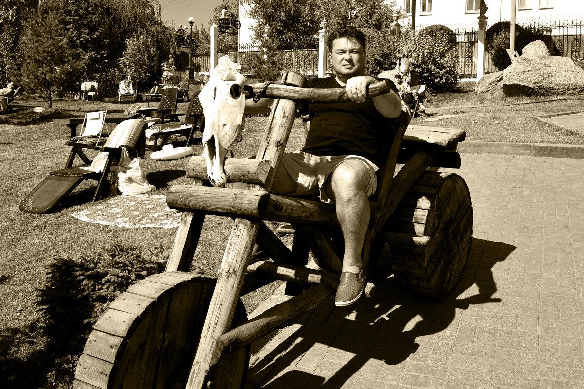 На деревянном Байке... - Дмитрий Петренко