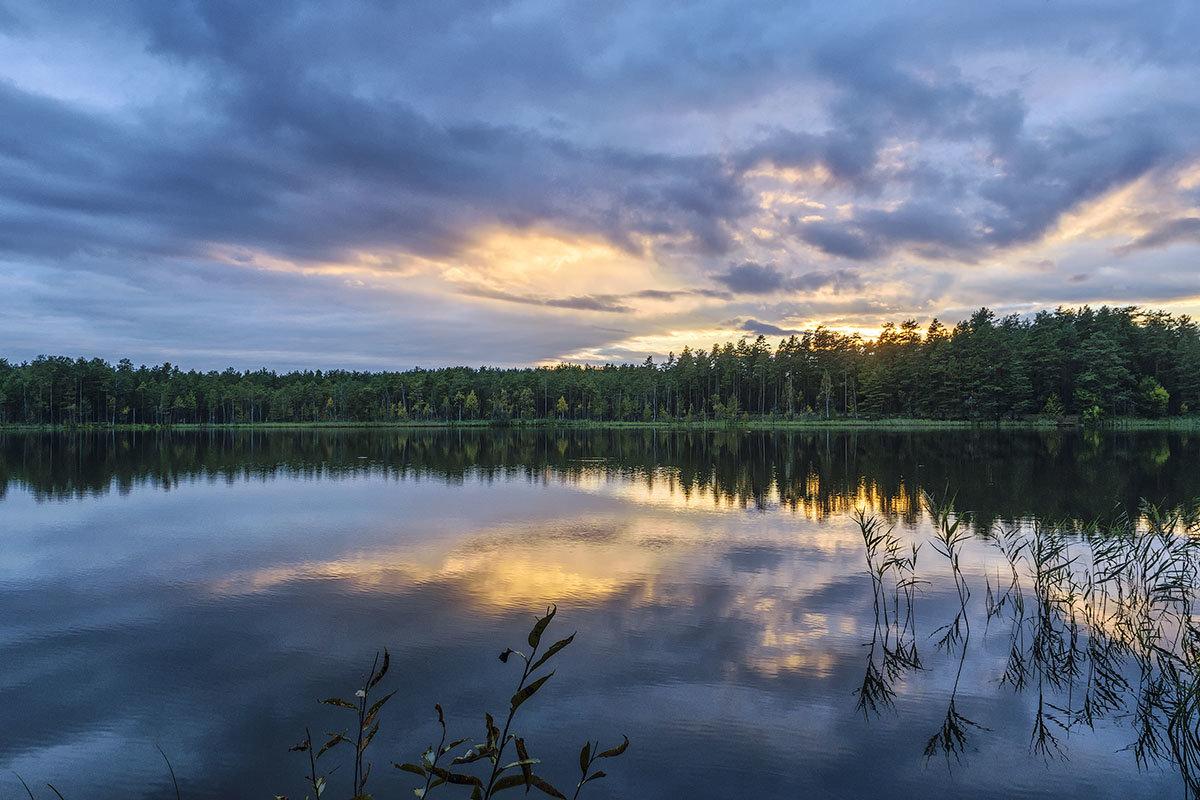 Осенний закат - Владимир Филимонов