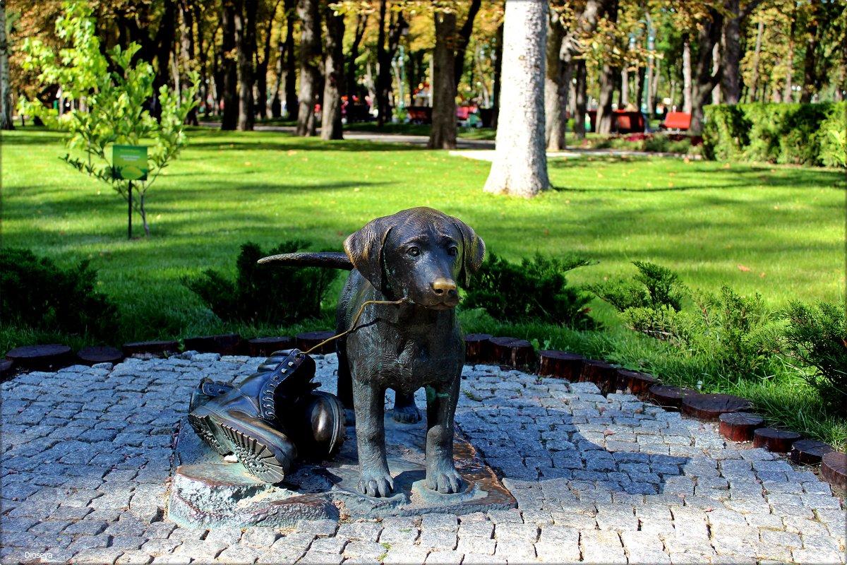 Скульптура собачки - Татьяна Пальчикова