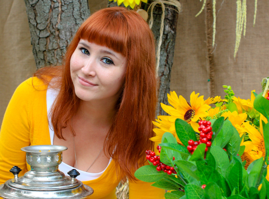 Солнечная и яркая Нина - Наталья