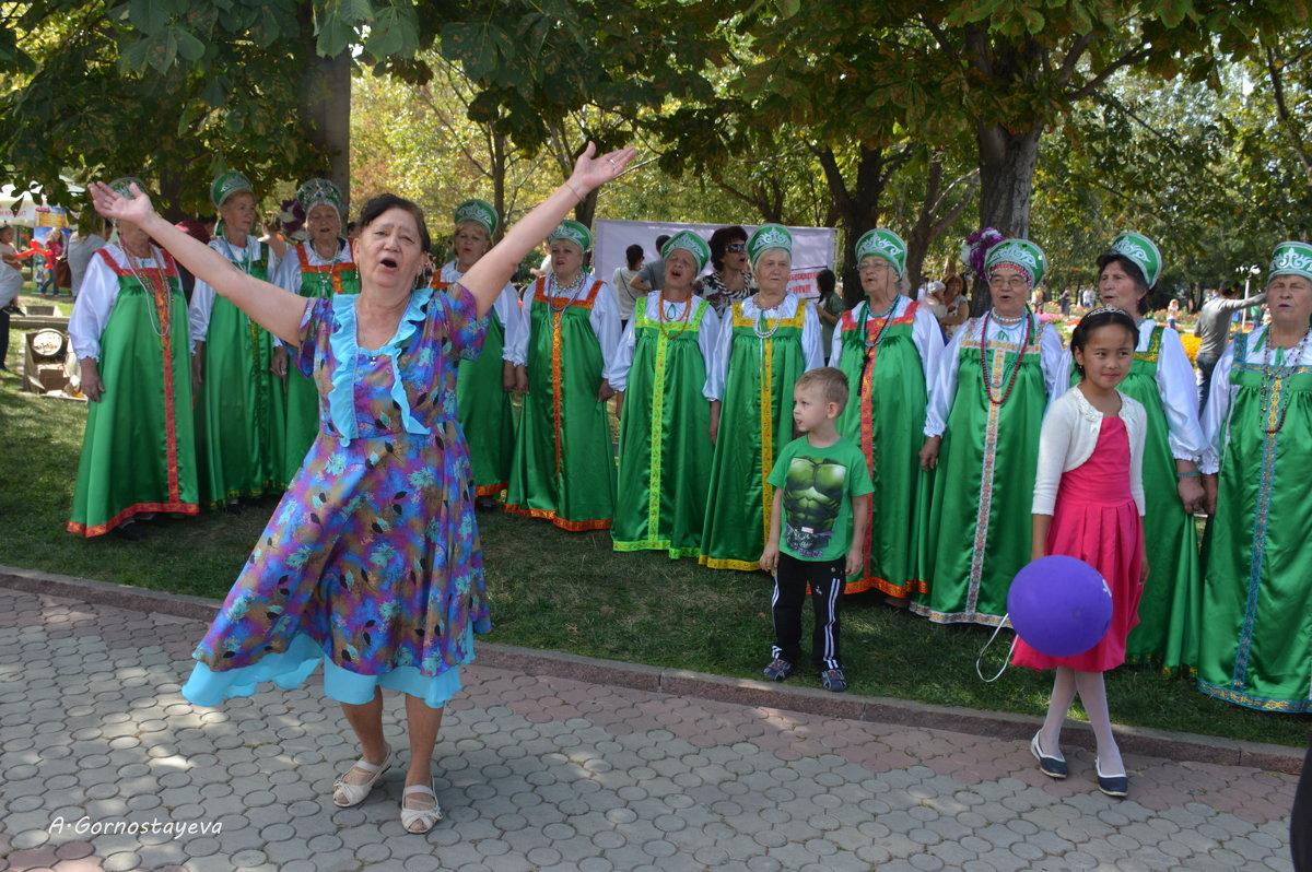 Хор алматинских бабушек - Anna Gornostayeva