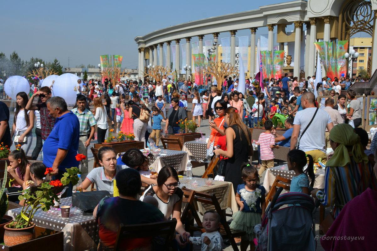 Фестиваль яблок в парке Президента. - Anna Gornostayeva
