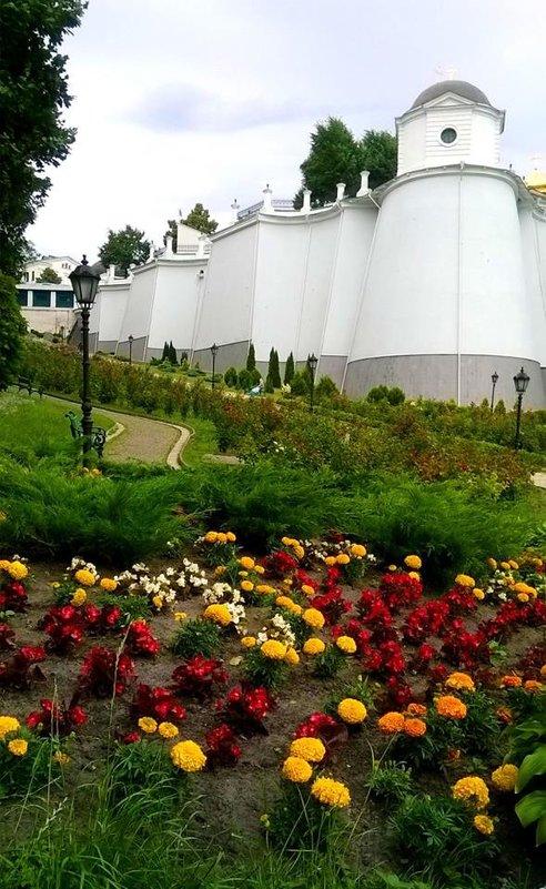 Крепостная стена Киево-Печерской лавры - Наталия Каминская