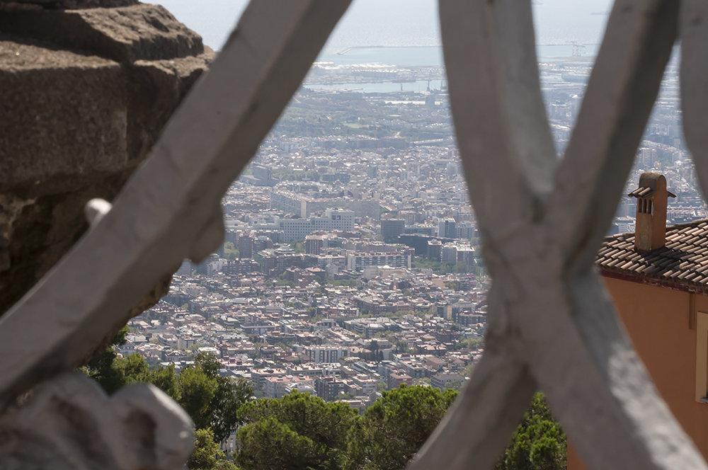 Барселона, Испания, путь на гору Тибидабо - Наталья Щепетнова