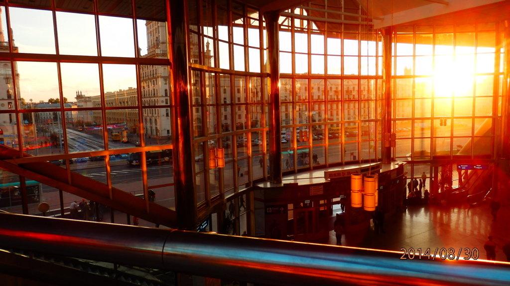 вокзал в Белорусии - Таня