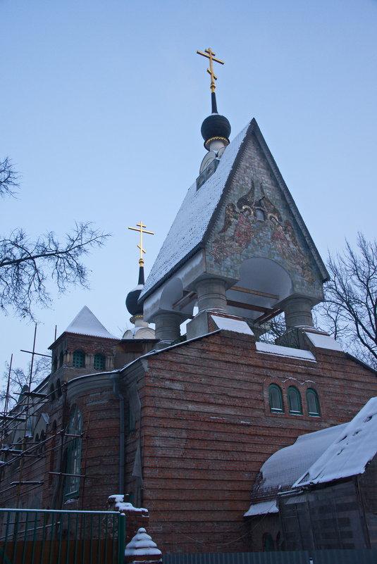 Старообрядческая церковь в Токмаковом переулке - Владимир Брагилевский