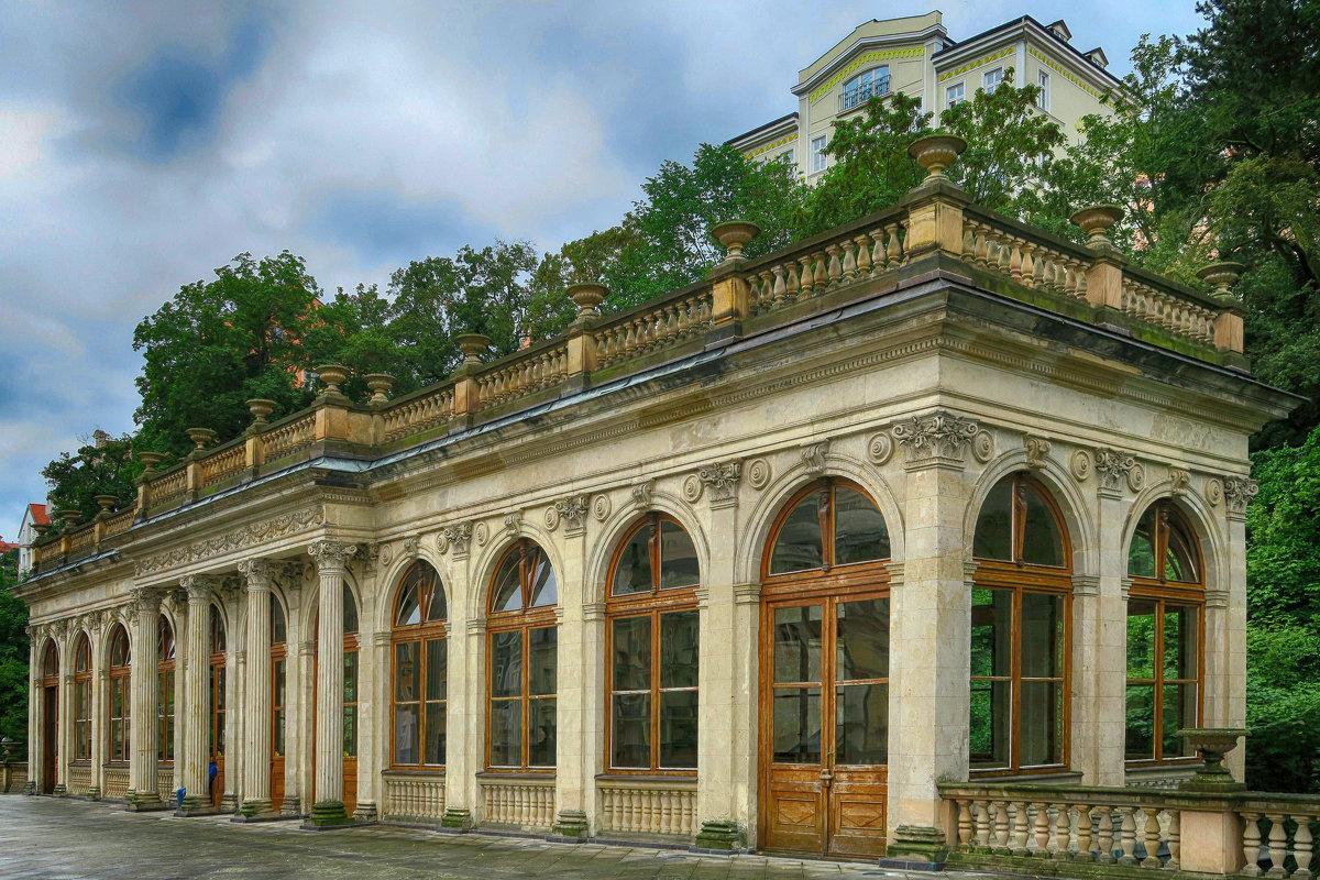 Павильон Мельничной колоннады - Евгений Кривошеев