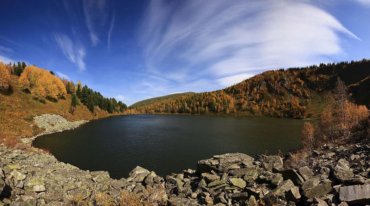 Озеро в горах - Сергей Жуков