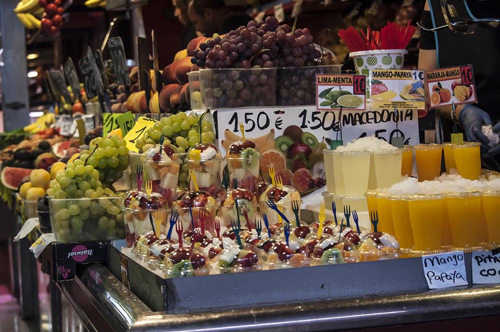 Барселона, Испания, рынок бокерия - Наталья Щепетнова