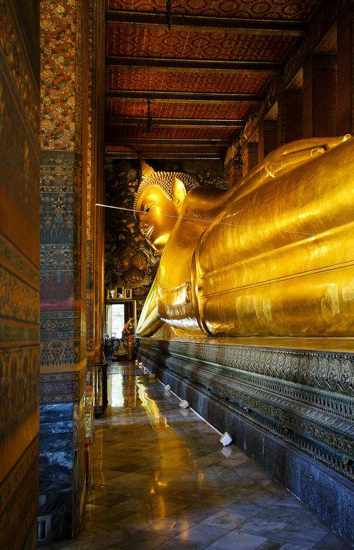 Ват Пхо - храм Лежащего Будды. - Сергей Калиновский