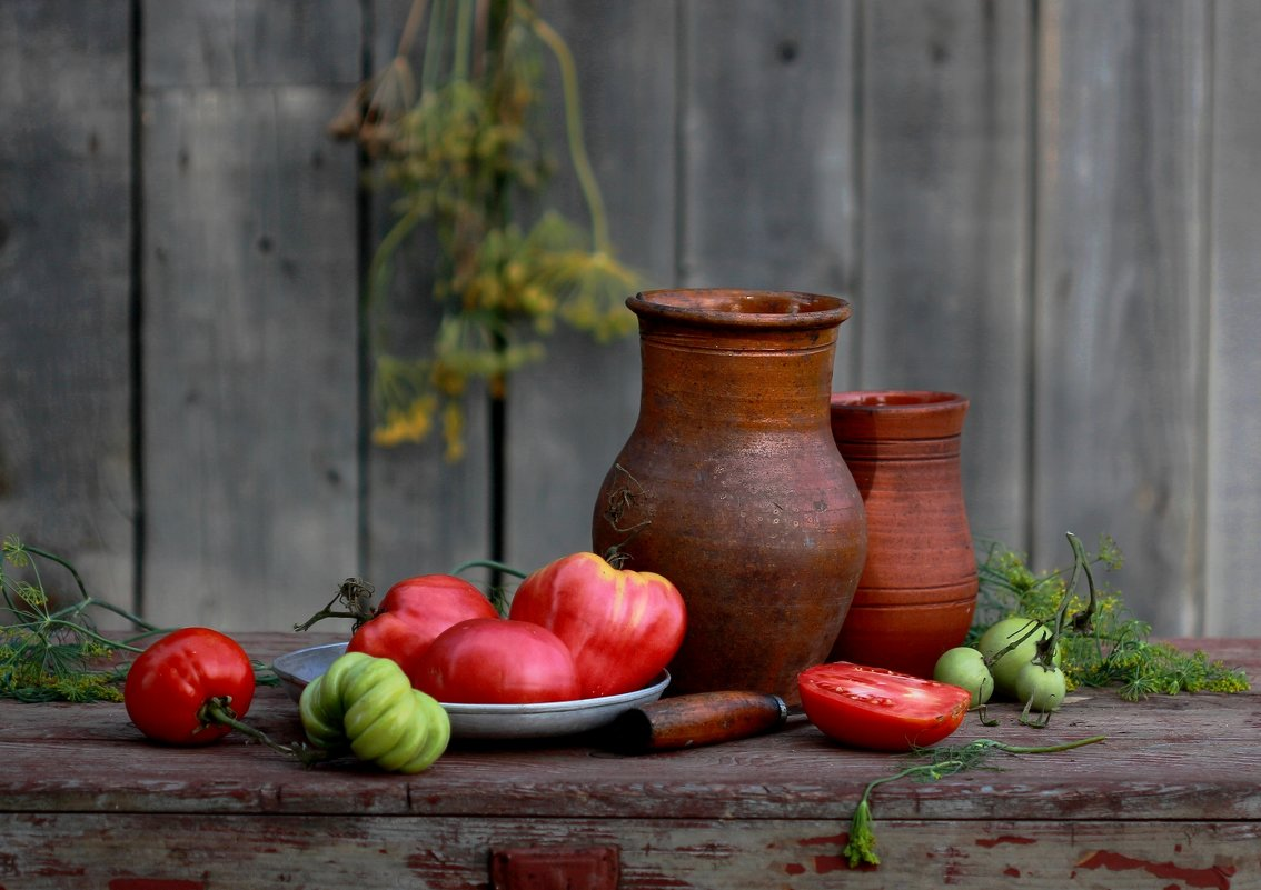 С  помидорами. (фото 1) - Наталья Казанцева