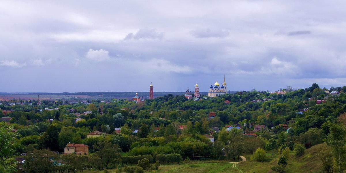 г.Болхов вид на храмы - Елена Кирьянова