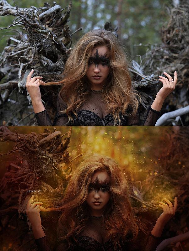 ведьма (до и после) - Veronika G