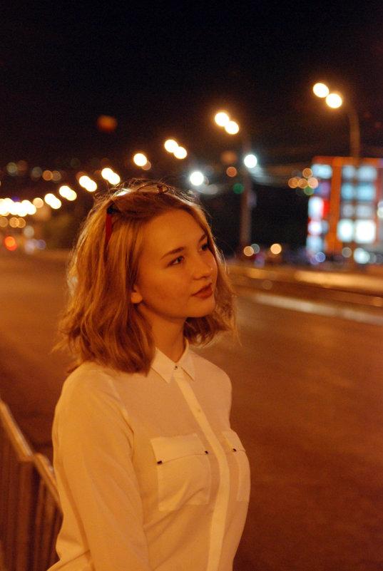 ночной город - Наталья Рогалёва