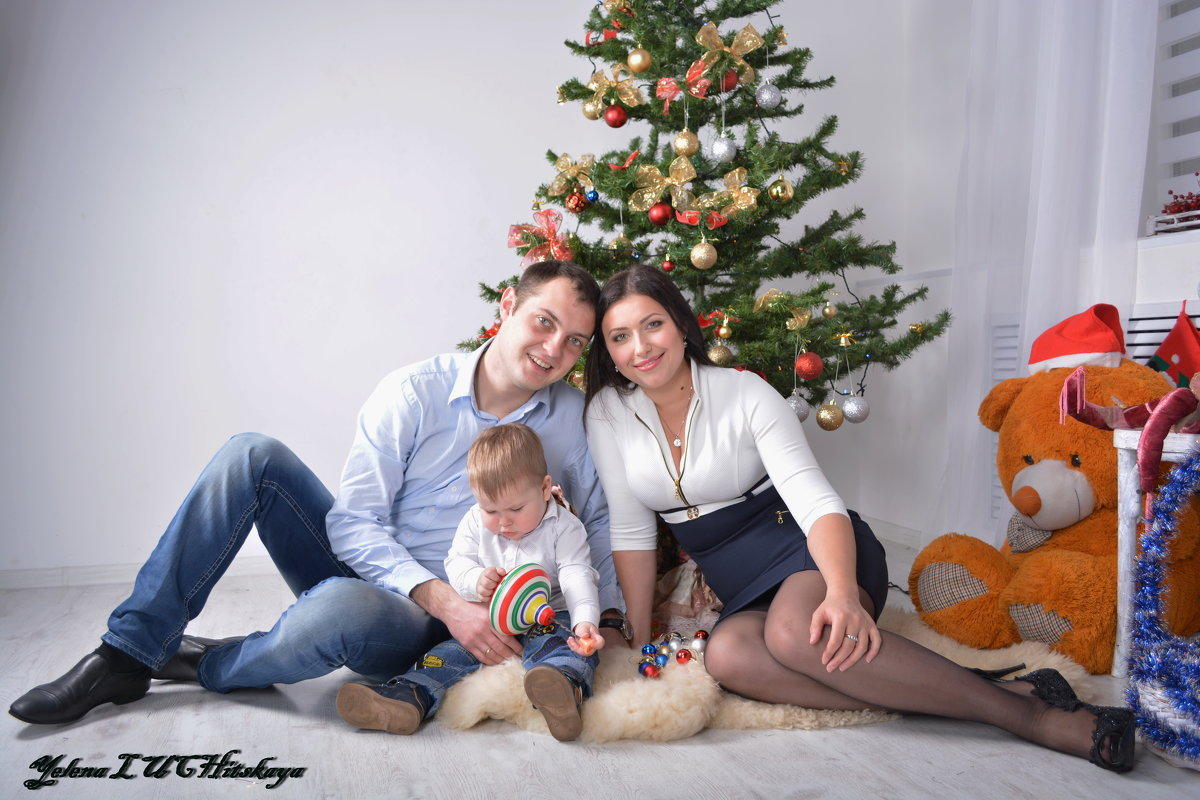 Семейный праздник Рождество - Yelena LUCHitskaya