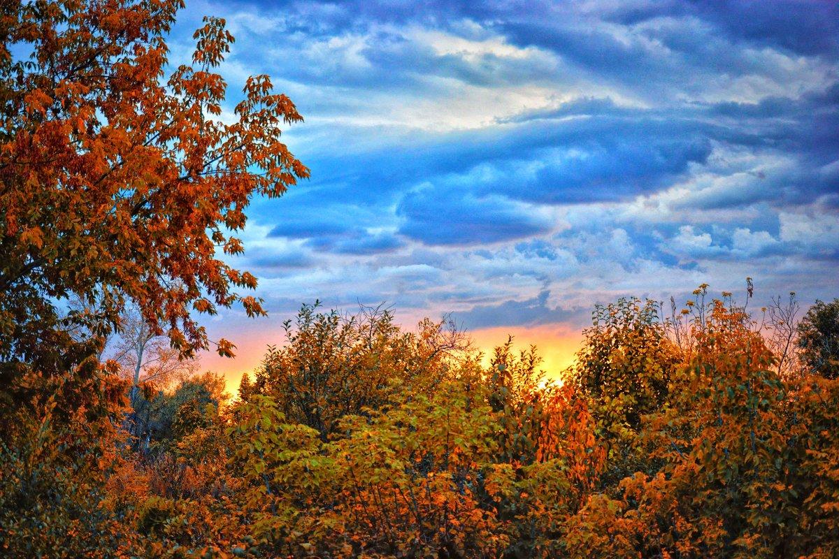 Осенний закат - Юрий Фёдоров