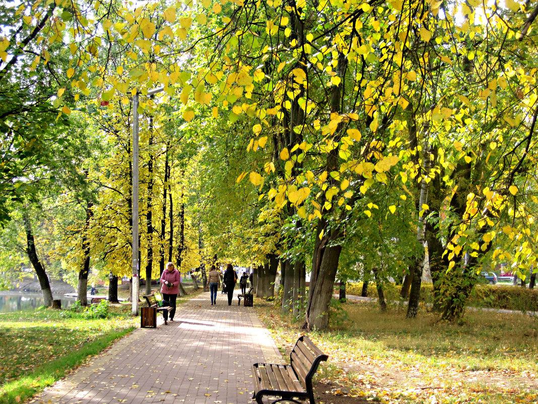 Когда наступает золотая осень.. - Елена Семигина