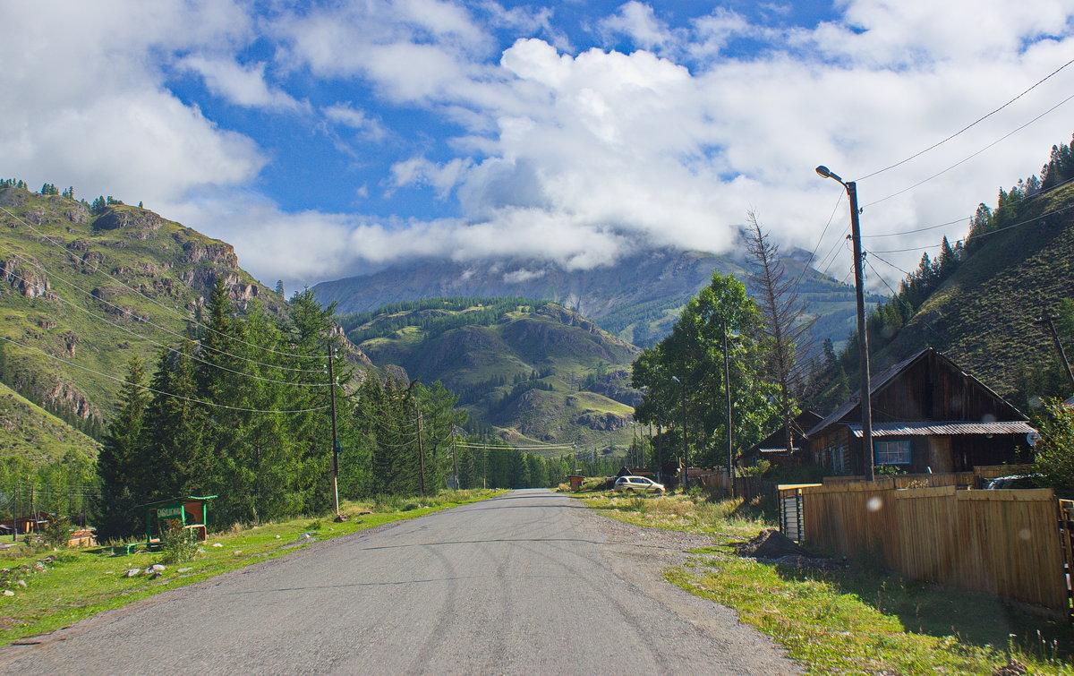 На выезде из села Акташ - val-isaew2010 Валерий Исаев