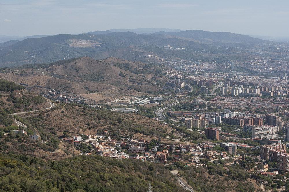 Испания, Барселона,  гора Тибидабо - Наталья Щепетнова