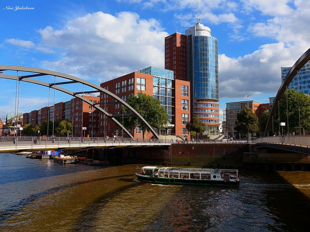 Гамбург - город мостов - Nina Yudicheva