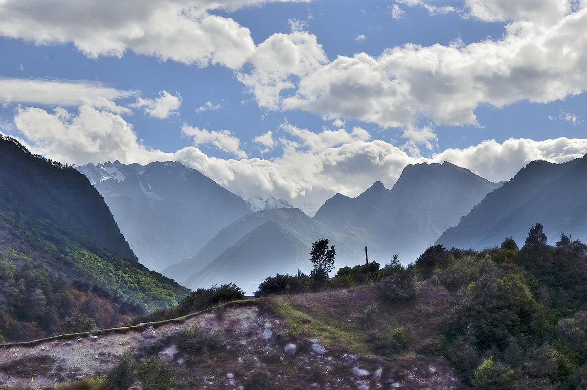 Горные вершины Дигории - Мария Климова