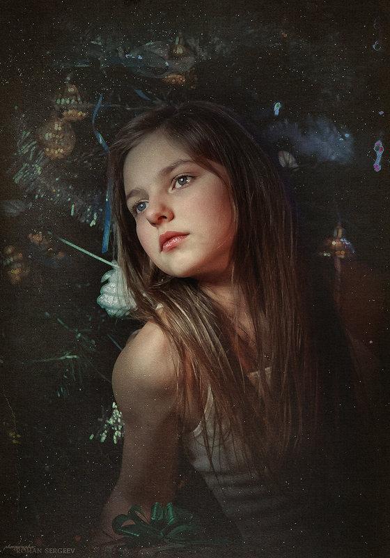 Портрет дочки - Roman Sergeev